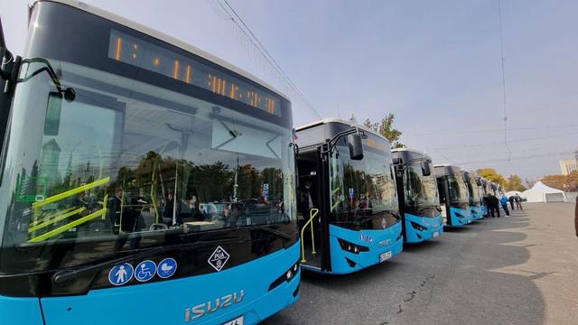 Chișinău   Nouă autobuze noi, puse în circulație. Rutele pe care vor circula